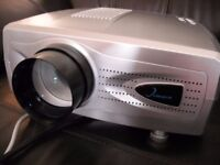 Clearco Projector & Pull down viewing screen included.