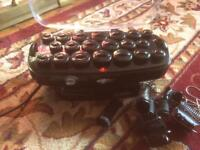Babyliss thermo ceramic hair rollers plus extras