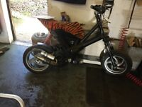 GILERA ICE 50cc RACING SCOOTER Stage 6 parts pm tuning full circle crank polini exhaust and variator