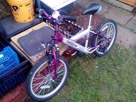 BIKE FOR YOUNG GIRL FOR SALE