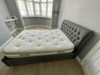 Double bed (4 drawers) and Mattress
