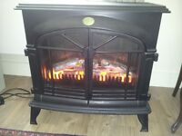 Stove type electric fire