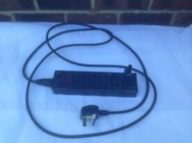 IEC EXTENSION BOARD SPLITTER WITH MAINS CABLE