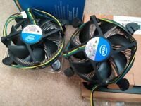 Intel stock coolers