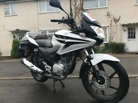 Honda CBF 125cc only 2254 genuine miles!