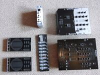 DJ mixers, soundcard and MIDI controllers