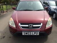 NOT TO BE MISSED (no reasonable offer refused) HONDA CR-V I-VTEC SE SPORT 1998cc