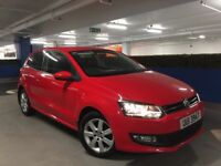 2013 VOLKSWAGEN POLO MATCH EDITION 1.2 PETROL 3DR **CRUISE** **PARKING SENSORS**