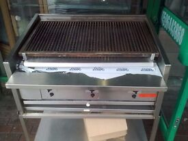 CATERING COMMERCIAL GAS CHARCOAL BBQ KEBAB GRILL FAST FOOD KITCHEN TAKE AWAY RESTAURANT SHOP