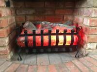Log effect electric fan heaters (2)