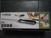 Tower T19028 Electric Knife with One Touch Operation,120W, Black-NEW
