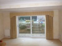 Curtains - full length - to fit patio doors