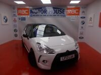 Citroen DS3 E-HDI DSTYLE(£0.00 ROAD TAX) FREE MOT'S AS LONG AS YOU OWN THE CAR!! (white) 2013