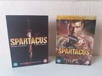 Spartacus DVD boxset's season 1 and 2