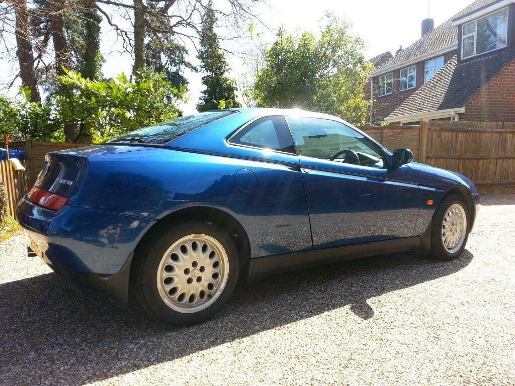 Alfa Romeo GTV 2.0 twin spark - Cambelt and spark plugs recently replaced **SOLD**