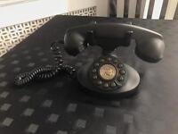 Plastic vintage telephone decorative