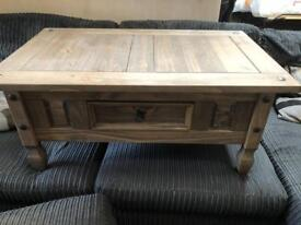 Hard quality wooden coffee table