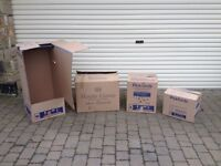Removal boxes - heavy duty - various sizes