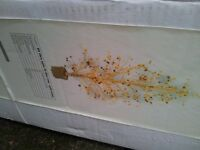 BOXD NEW NEXT GOLD 5FT LIT XMAS TREE COST 150