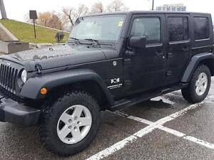 2007 Jeep Wrangler UNLIMITED X 2 TOPS