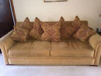Gorgeous 4 seater John Lewis sofa with cushions - £300 ono