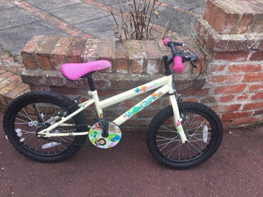 Girls bike 18inch
