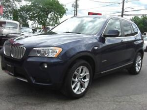2011 BMW X3 xDrive28i *Nav / Pano Roof / Leather*