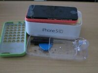 apple iphone 5c Needs screen replacment but works fine