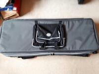 Kaces wheeled 76 note keyboard case. Fits some 88 note keyboards (inc Nord Stage HA88)