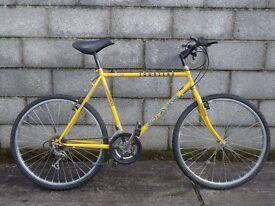 mens bike yellow townsend 26''