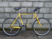 mens bike yellow townsend 26''
