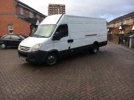 iveco daily twin wheel van for sale