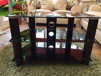 Sony TV audio table