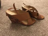 Aztec sandals.