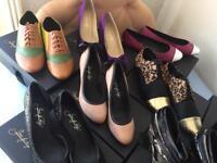 RRP £2400 job lot 14 pairs woman's designer shoes of prey