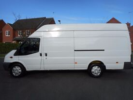 NO VAT !! Ford transit Jumbo with a 142k from new ,FULL SERVICE HISTORY.