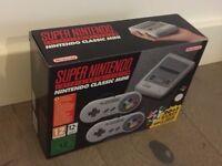 Super Nintendo SNES Classic Mini BRAND NEW BOXED + 2 Controllers