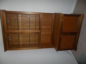 Teak Welsh Dresser / Cabinet