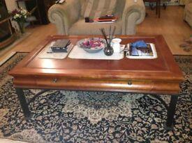 Hard wood coffee table- Good condition
