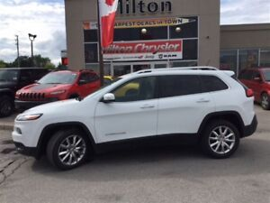 2015 Jeep Cherokee LIMITED|LEATHER|8.4