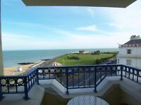 Faboulous seafront apartment with 2 bed/bath, fully furnished, secure parking.