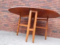 Vintage Retro Mid Century occasional table 40 pounds