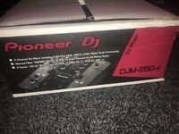 PIONEER DJM 250-K 2 CHANNEL MIXER