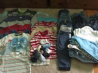 Baby boy clothes bundle, 9-12 months