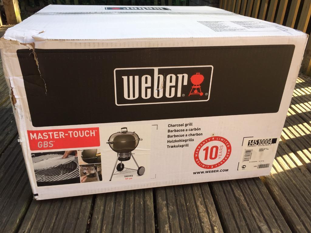 Weber Master Touch Bbq In Stapleton Bristol Gumtree