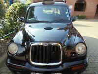 W REG.. LONDON BLACK TAXI