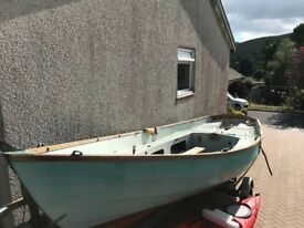 Drascombe Lugger with trailer.