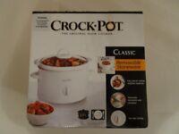 Crock Pot Slow Cooker (2.4L)