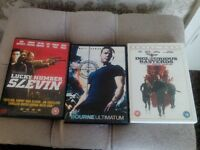 ACTION DVDS FOR SALE.