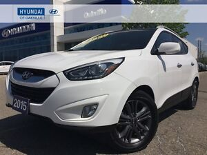 2015 Hyundai Tucson GLS FWD | LEATHER |  ROOF | CAM | 2 SET TIRE